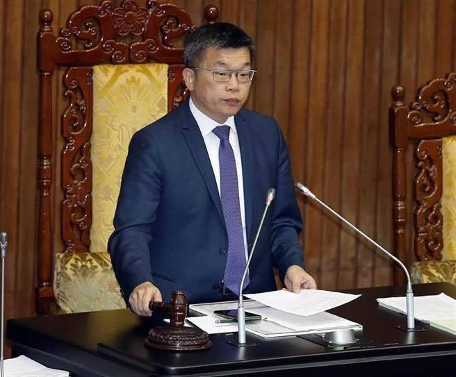 立法院副院長蔡其昌。本報資料照