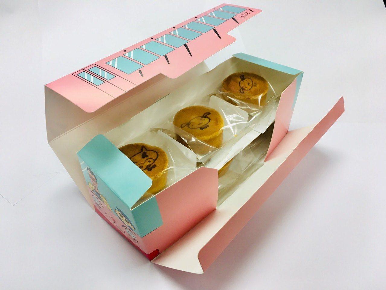 台灣限定手工鳳梨酥「小新巴士禮盒」。圖/摘自小星屋官網