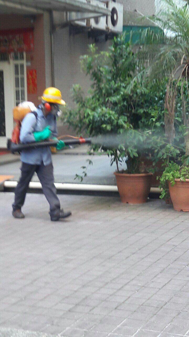 一名家住新北中和區、在台北市文山區上班的40歲男性冷氣裝修員今天確診為本土登革熱...