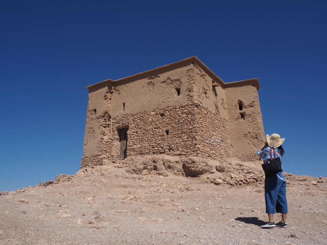 埃本哈杜「攻頂」,僅存此座堡壘。記者羅建怡/攝影