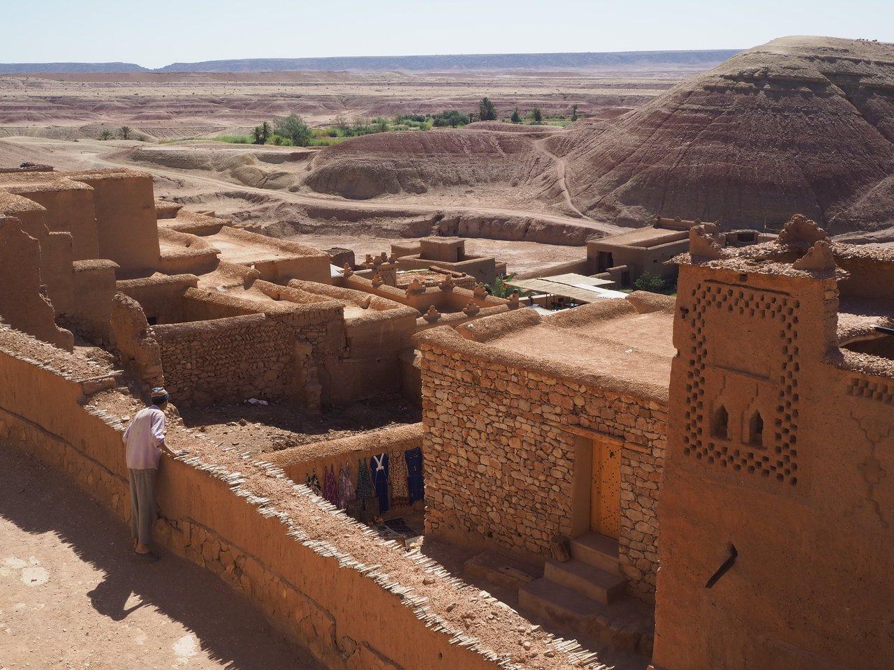 埃本哈杜的古城牆。記者羅建怡/攝影