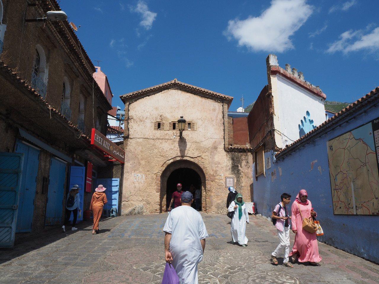 蕭安從老城的入口起,就充滿美感。記者羅建怡/攝影