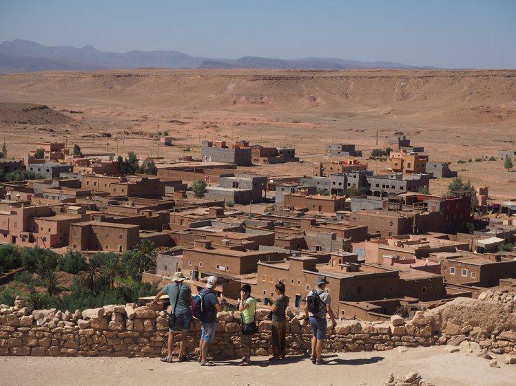 埃本哈杜的村落。記者羅建怡/攝影