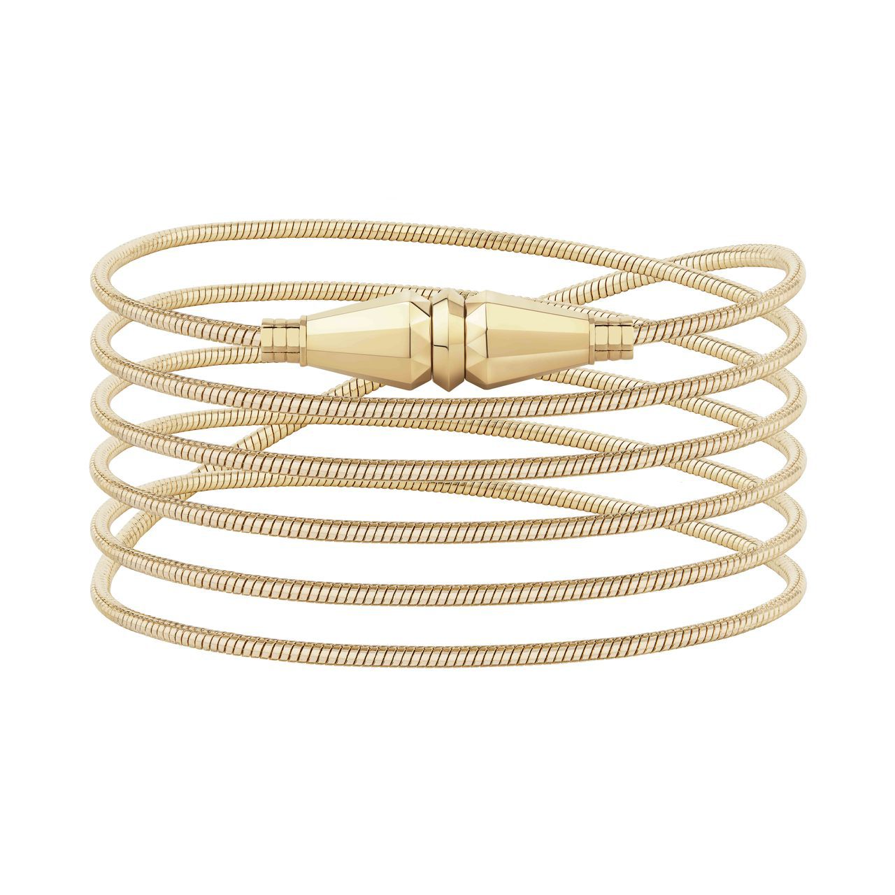 Jack系列18K黃金手鍊,32萬8,000元。圖/寶詩龍提供