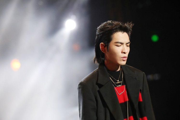 蕭敬騰配戴寶詩龍珠寶出席上海阿里88會員節。圖/寶詩龍提供