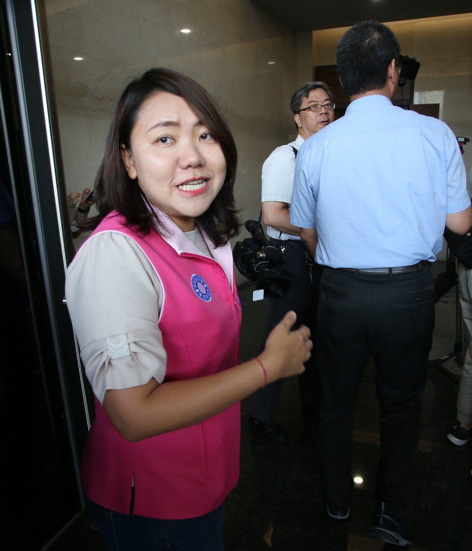 高雄市議員邱于軒將接任國民黨文傳會副發言人。記者劉學聖/攝影
