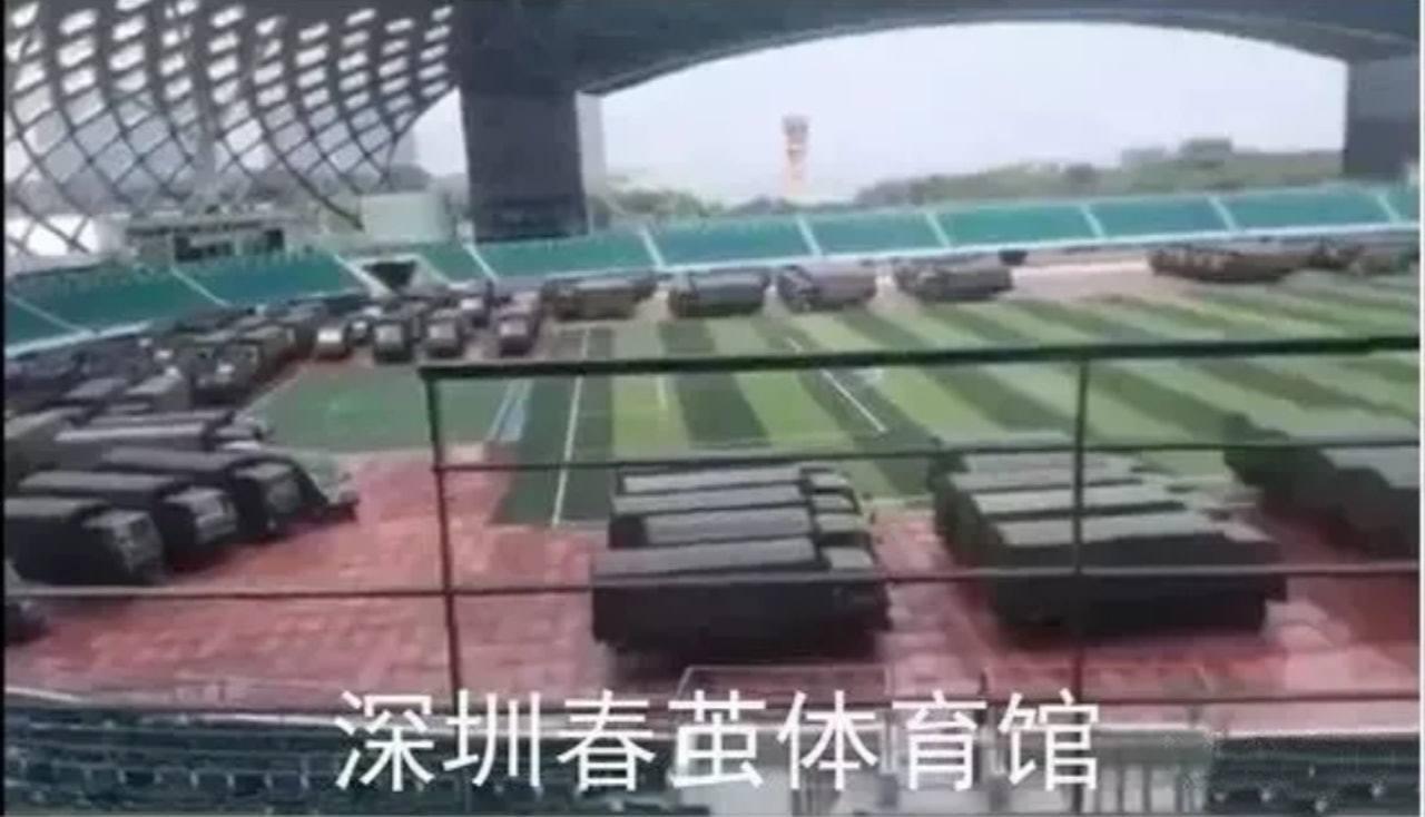 陸記者被毆後,中共解放軍發文:從深圳往香港只需10分鐘。取自解放軍東部戰區陸軍微...