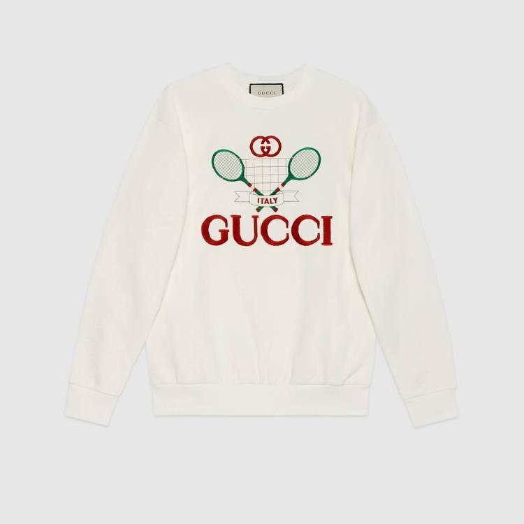 Gucci Tennis長袖上衣(女),40,000元。圖/Gucci提供