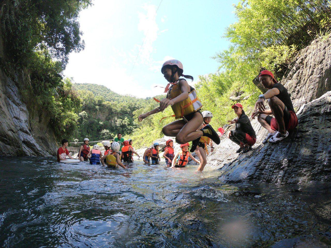知本老爺推出小頭目夏季活動營。圖/知本老爺酒店提供