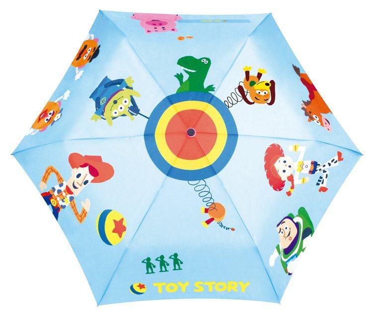 全家便利商店「玩心總動員」集點活動-玩具總動員系列摺疊傘大集合款,800點+24...