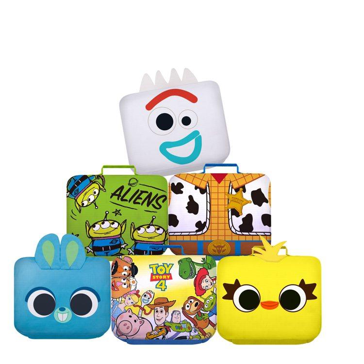 全家便利商店「玩心總動員」集點活動-玩具總動員系列收納包,共6款,集800點+1...