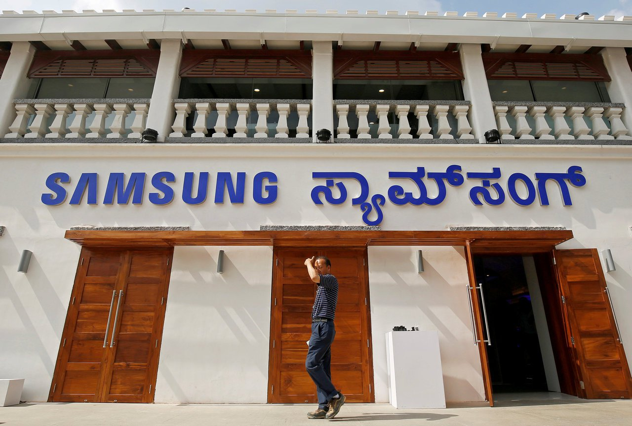 三星電子上季對印度的出貨量年增16.6%,主要是中、低價位智慧手機驅動銷售。路透