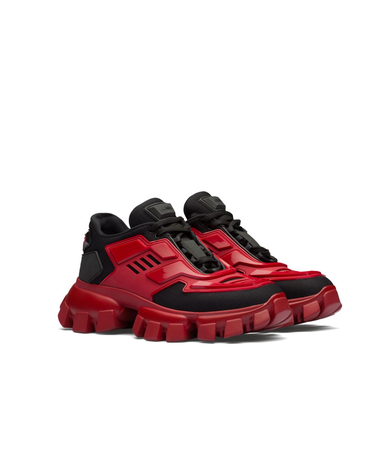 Cloudbust Thunder紅色休閒鞋,37,000元。圖/PRADA提供