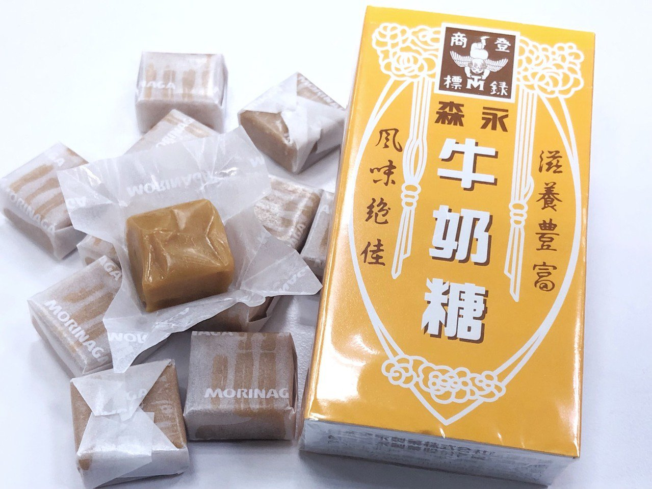 衛福部食藥署近日執行中元節食品稽查專案結果出爐,其中2件為知名零食「森永牛奶糖」...