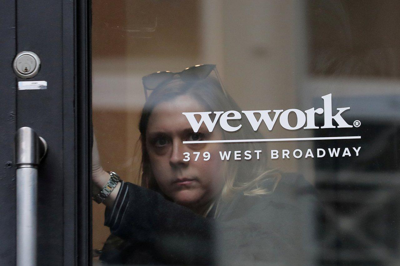 共享辦公室業者WeWork表示,最快下月辦理IPO。 路透