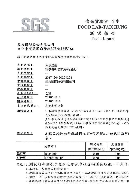 台北惡棍舉證SGS檢驗報告,但一芳認為造假。圖/翻攝自台北惡棍臉書