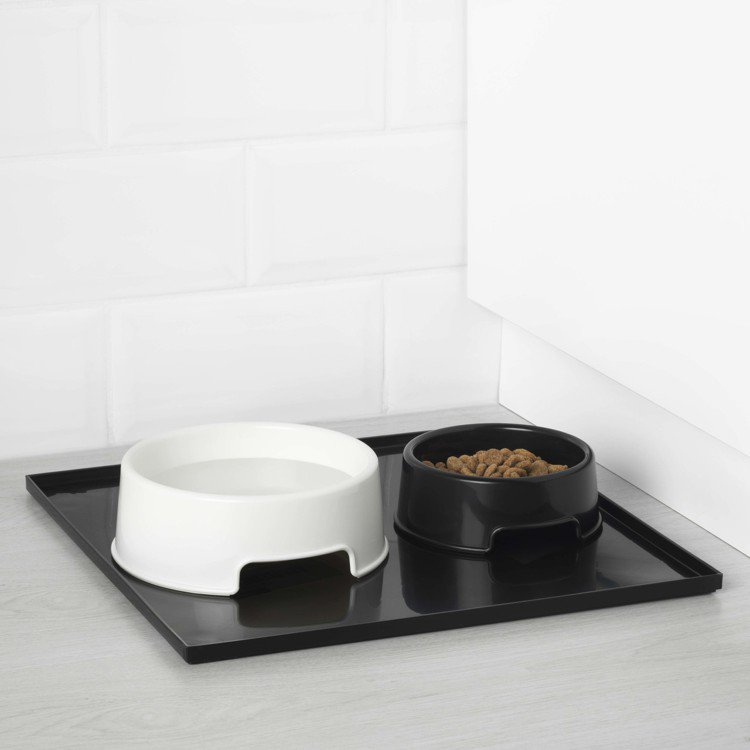 LURVIG寵物食盆(白色0.7公升),原價99元、再創低價49元,價格會因顏色...