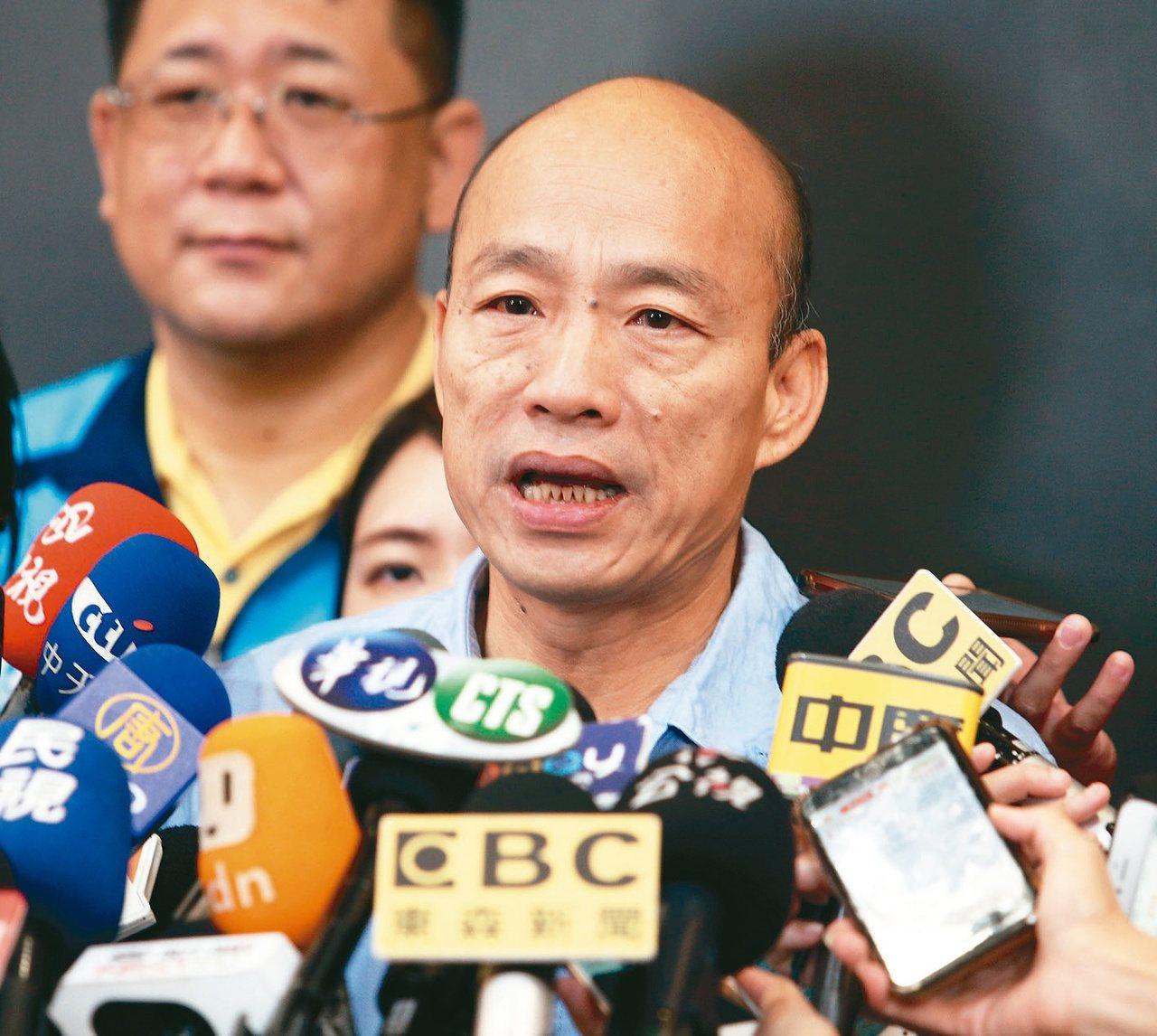 韓國瑜競選總部今晚表示,部分媒體登載韓國瑜政治獻金買酒、保養品和面膜,並非事實。...