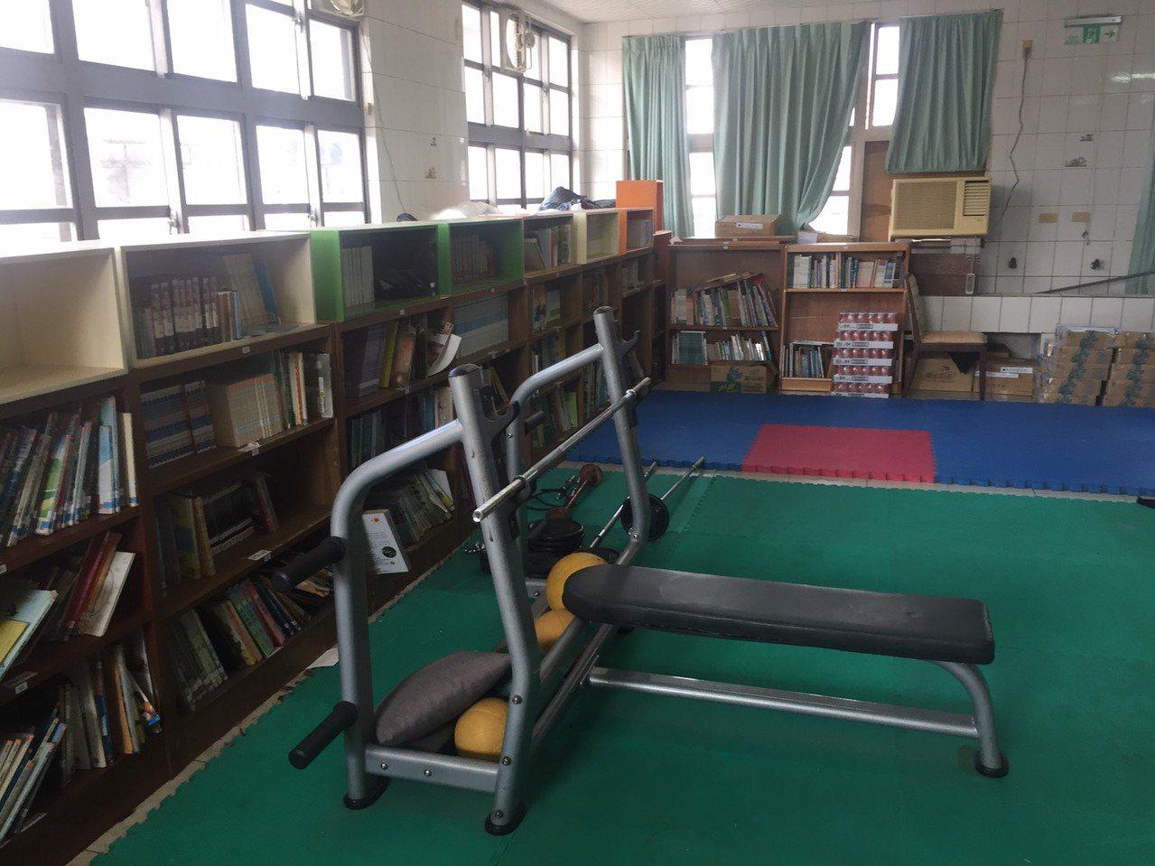 關西國小宿舍自習室。 記者吳敏欣/攝影