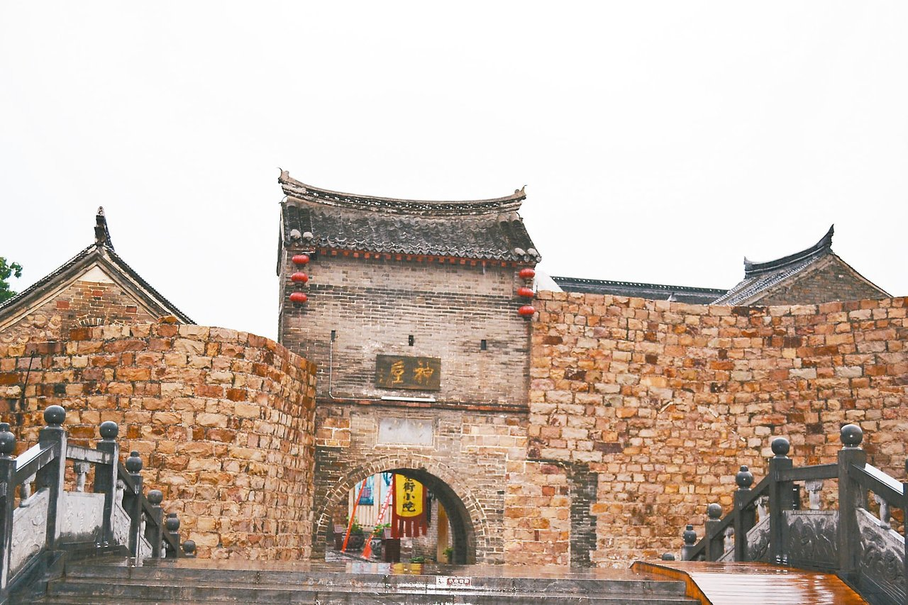 神垕古鎮始建於宋代,是中國歷史文化名鎮。 特派員王玉燕/攝影