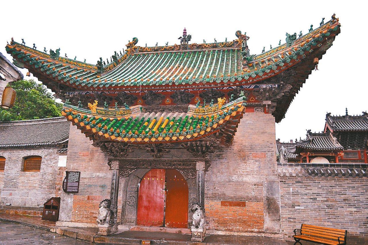 神垕古鎮伯靈翁廟,是神垕「鈞都」、「瓷鎮」的重要標誌。 特派員王玉燕/攝影