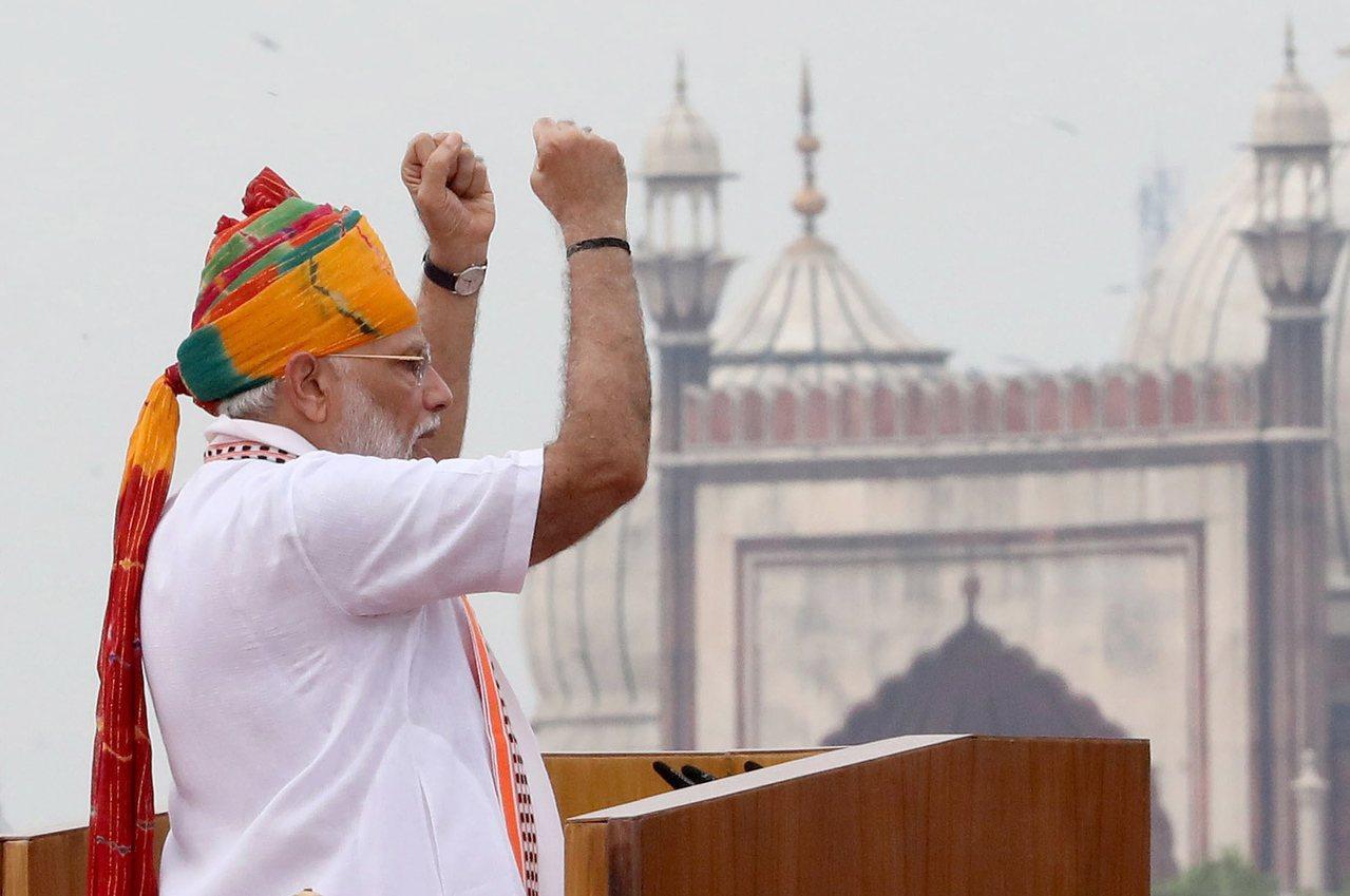 印度總理莫迪宣布印度國防指揮架構新變革,增設國防參謀長一職。 歐新社