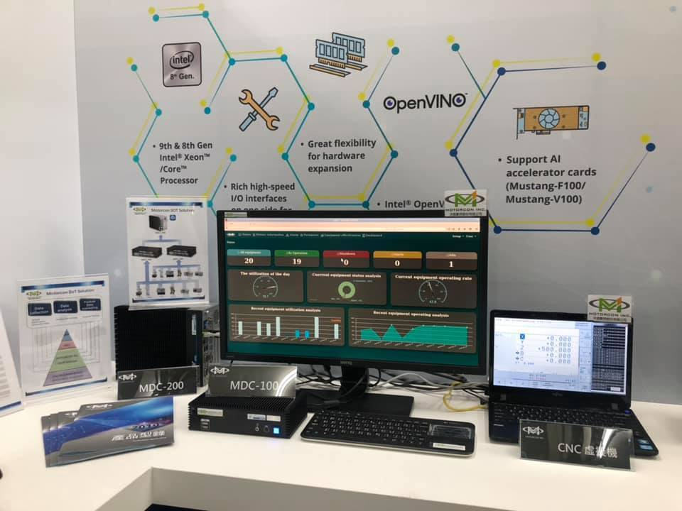 洋威數控MIoT工業物聯網管理系統。 洋威數控/提供
