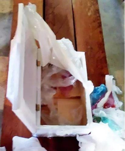 棺材打開竟不見男嬰屍體。圖擷自太陽報