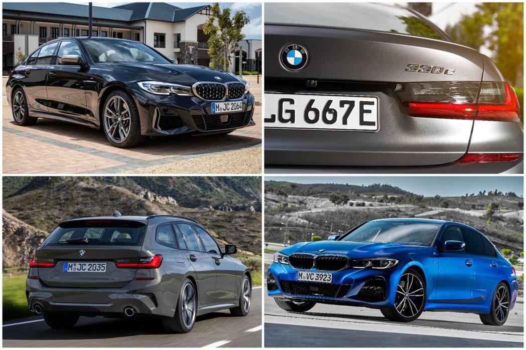 新世代BMW 3 Series車型,在G80 M3尚未發表前,目前車系編成包括與...