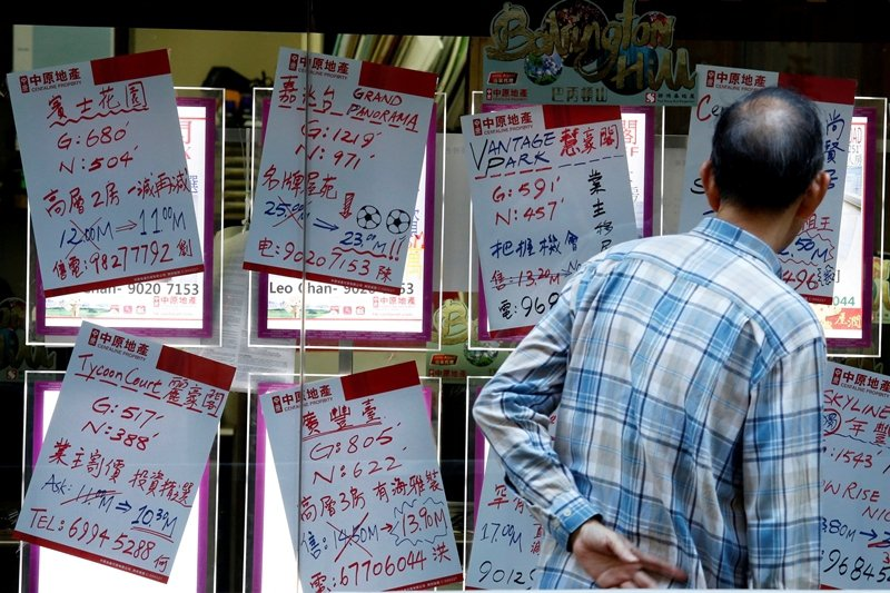 沒有哪個地方,比香港更貧富懸殊。 圖/路透社