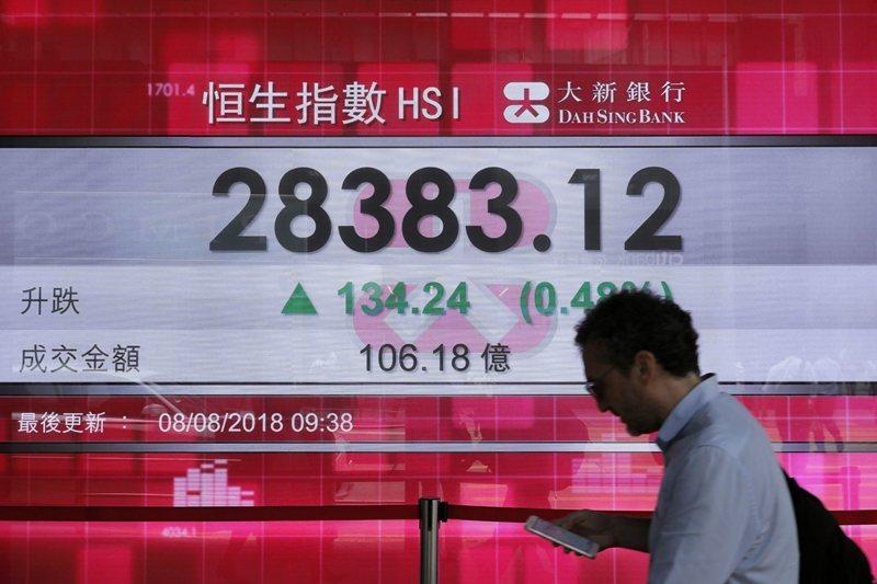 活在香港,任何人都會受到政治與經濟低氣壓的困擾。 圖/美聯社