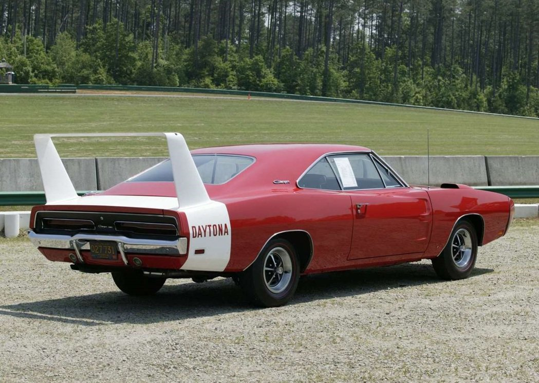 1969 Dodge Charger Daytona。 摘自Dodge