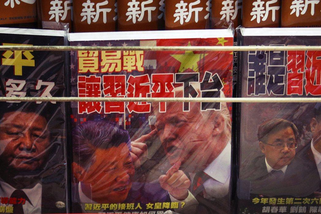 中美貿易戰,川普再度出新招? 圖/美聯社