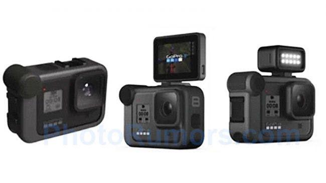 預計在今年9月發表的GoPro HERO 8也出現了最新曝光的外流視覺圖。 Ph...