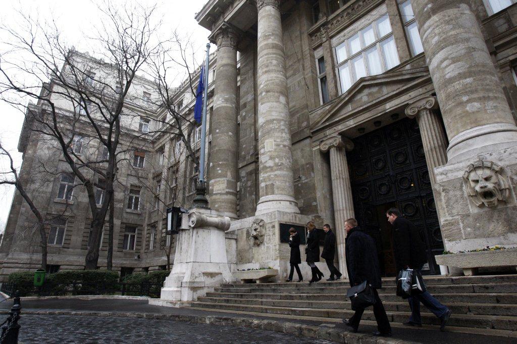 位於匈牙利布達佩斯的的最高法院。 圖/路透社
