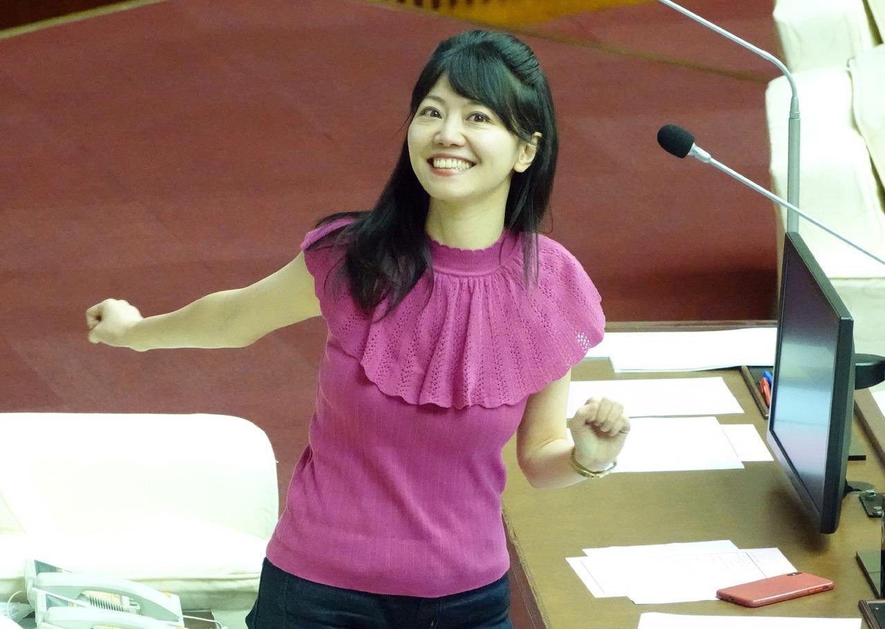 今年將滿39歲的高嘉瑜,看起來仍相當「少女」。 聯合報系資料照/記者曾吉松攝影