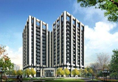 「正義聯盟」以高坪效、合宜價格、優質建材,欲成為大台北高房價的救星。圖為3D示意...
