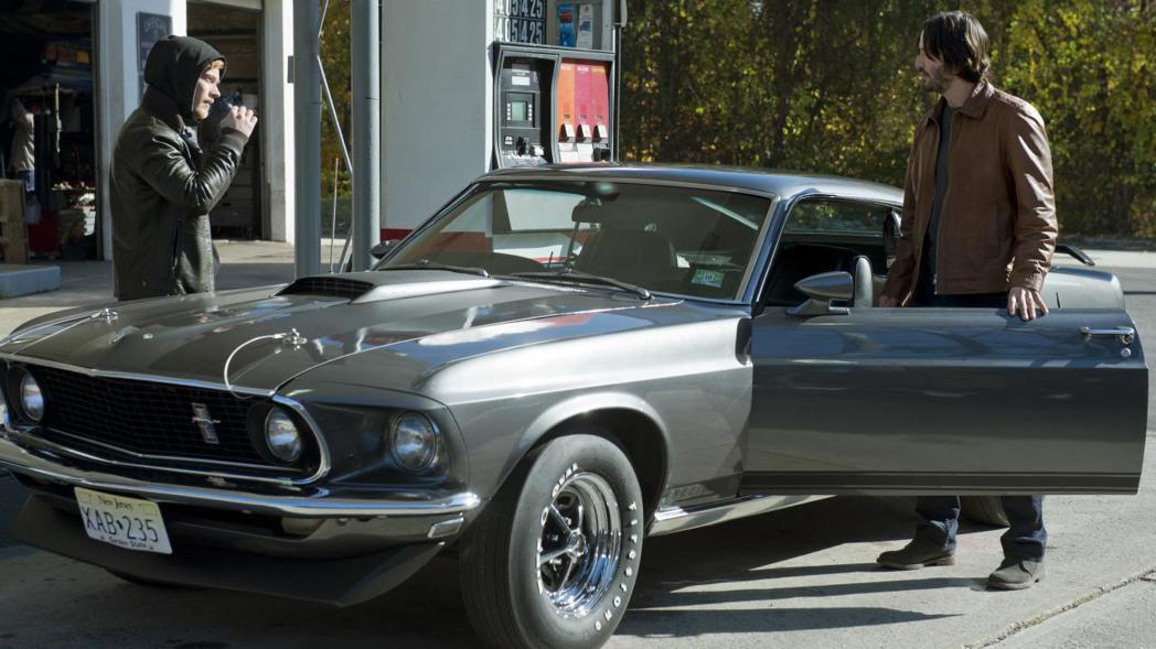 《捍衛任務》系列電影,由基努李維飾演的約翰維克,也是開著一輛福特野馬車款。 圖/...