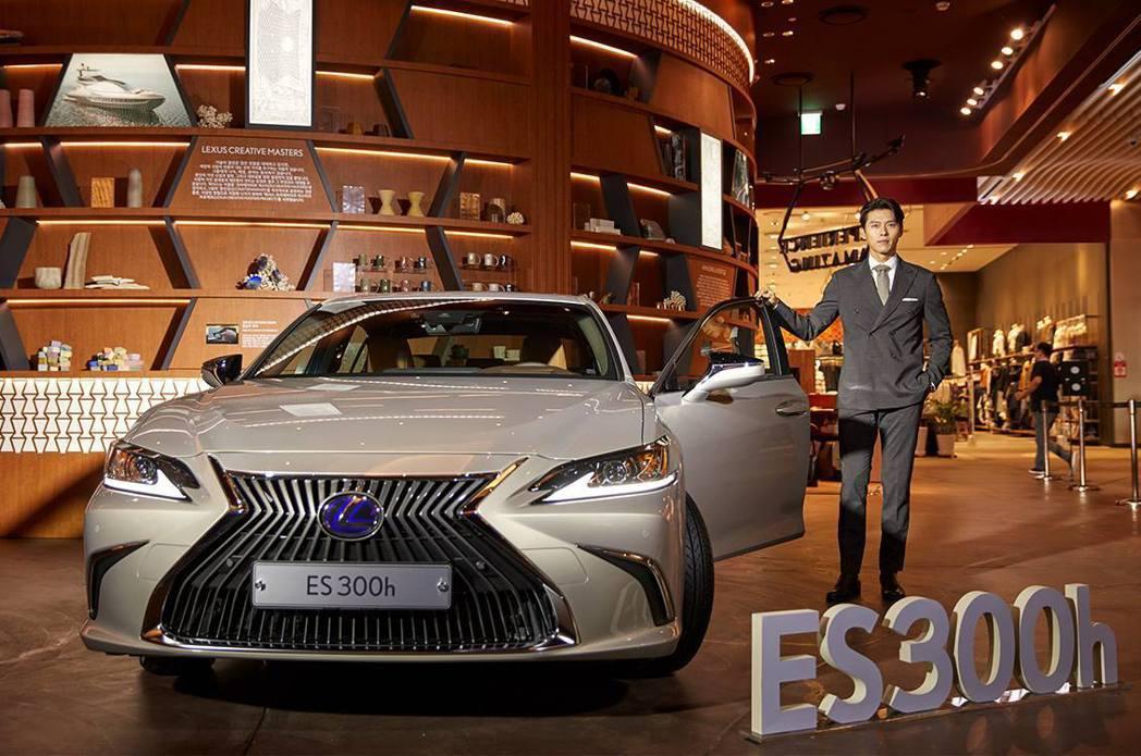 Lexus去年10月於韓國上市時,請來了知名演員玄彬代言。 摘自Lexus Ko...