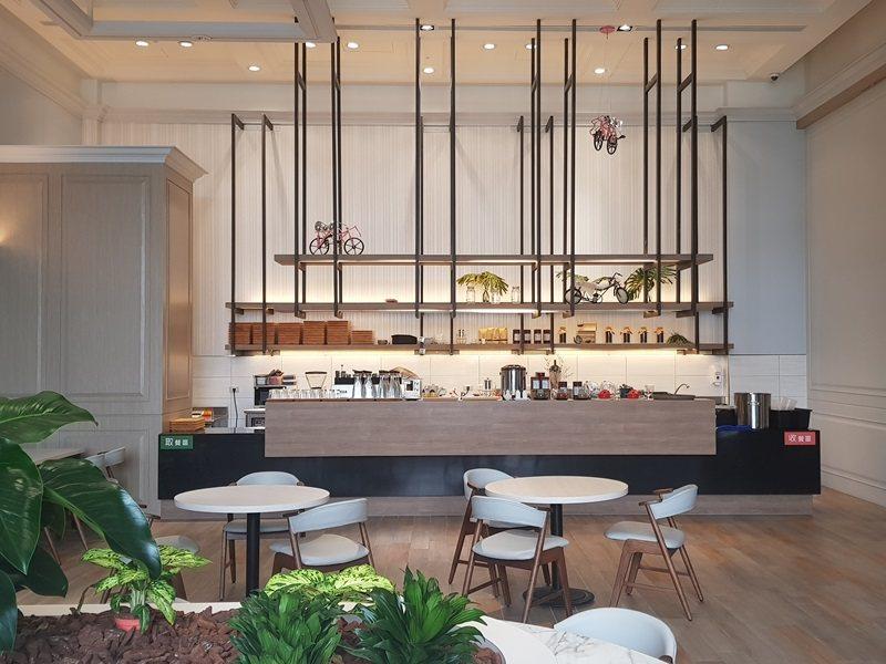 轉角455 café西餐廳。 攝影/Aries