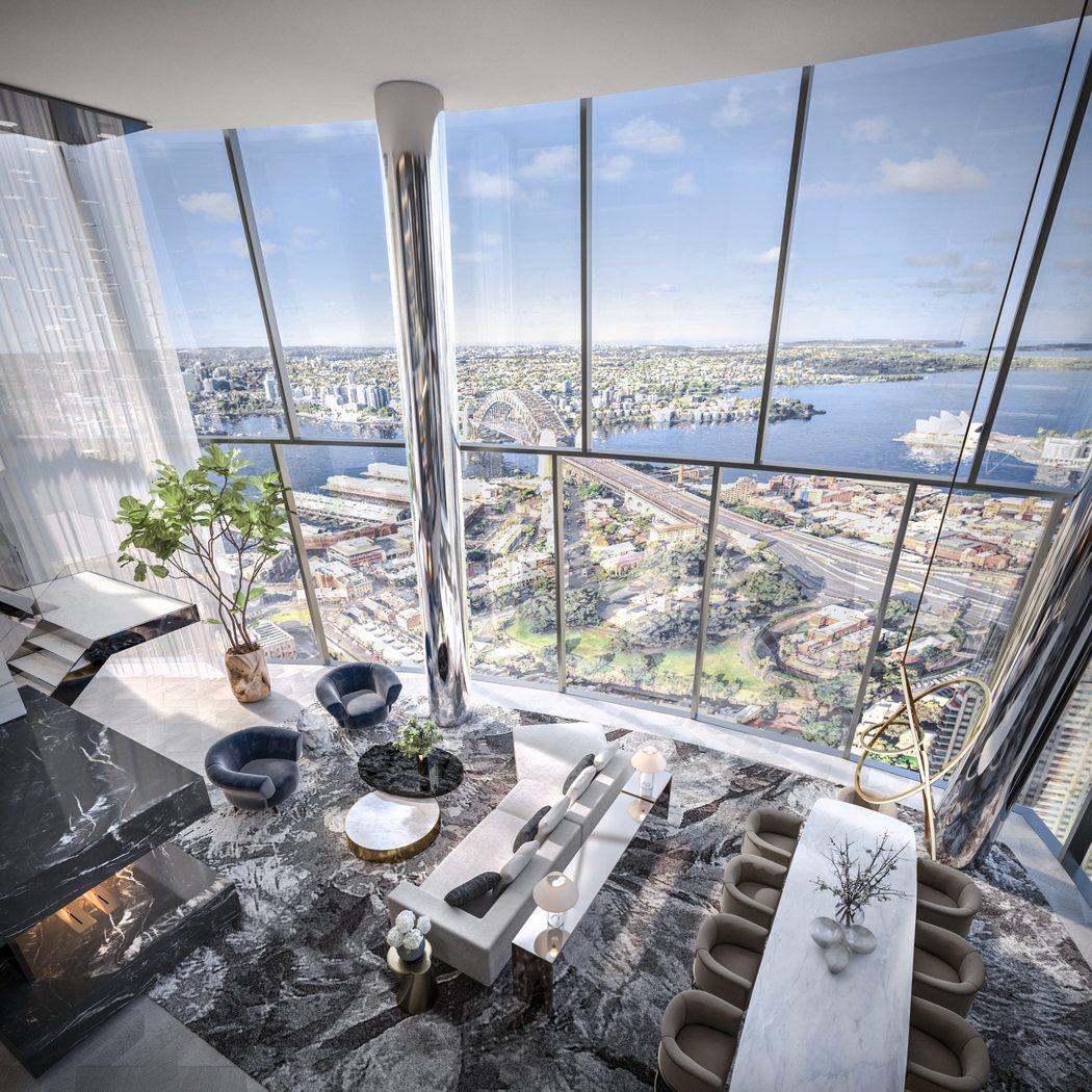 坐享絕佳位置,「布朗格魯一號皇冠住宅」景觀備受海內外富豪青睞。圖/Crown R...