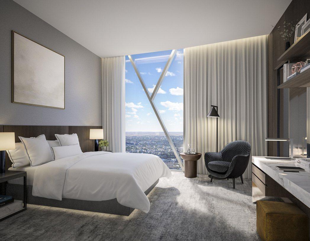 紐約名師Meyer Davis執掌「布朗格魯一號皇冠住宅」室內設計。圖/Crow...