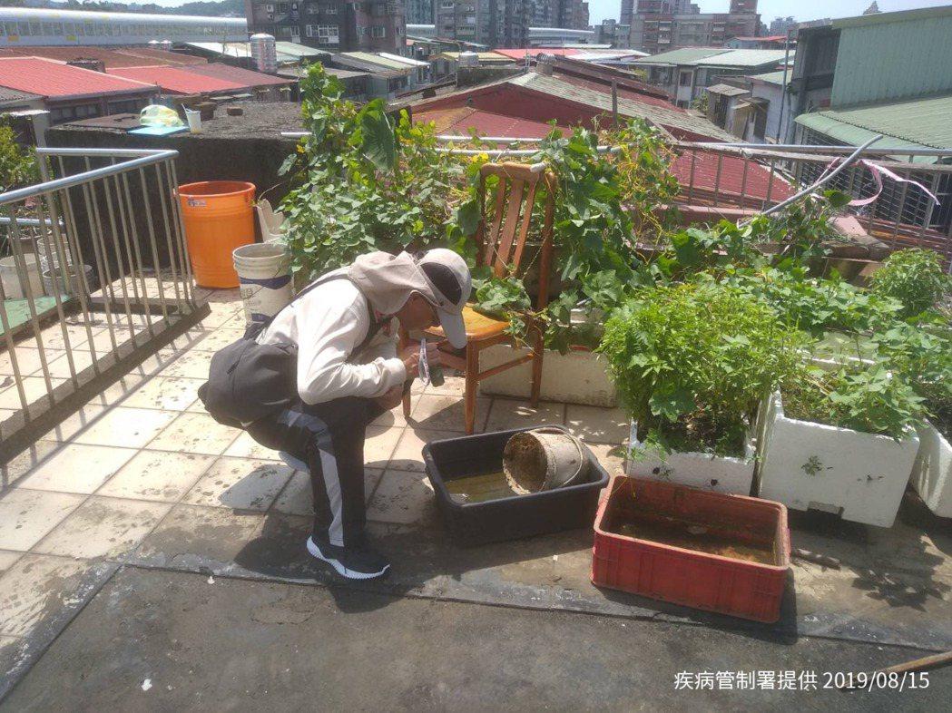 疾管署表示,為因應新北及台南登革熱疫情,衛生單位持續加強個案居住地周邊之疫情調查...
