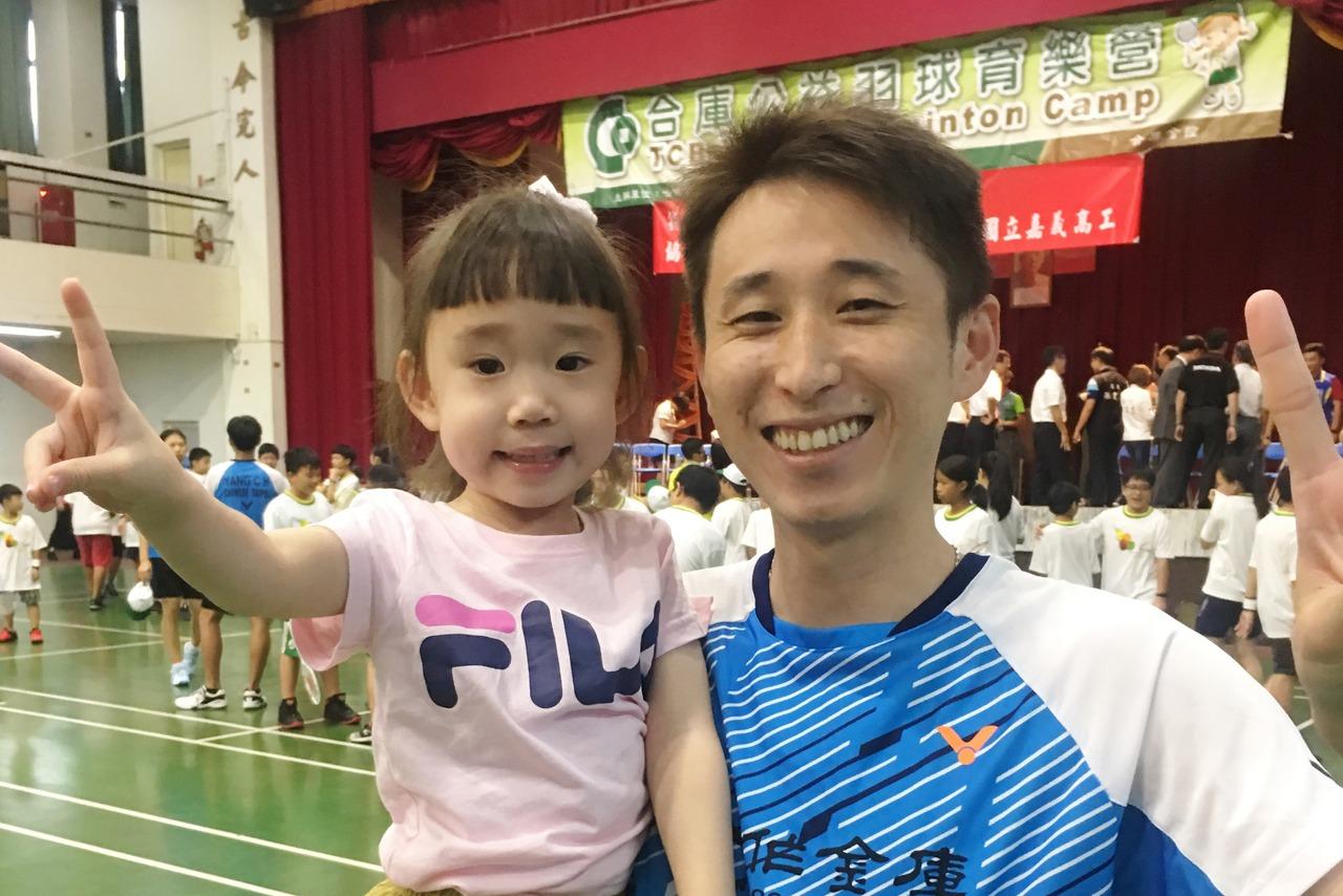 李勝木(右)有女萬事足。記者曾思儒/攝影