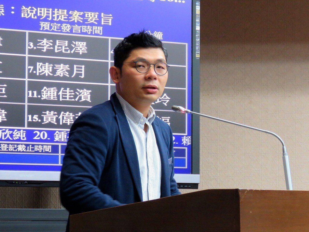 國民黨立委許毓仁。圖/聯合報系資料照