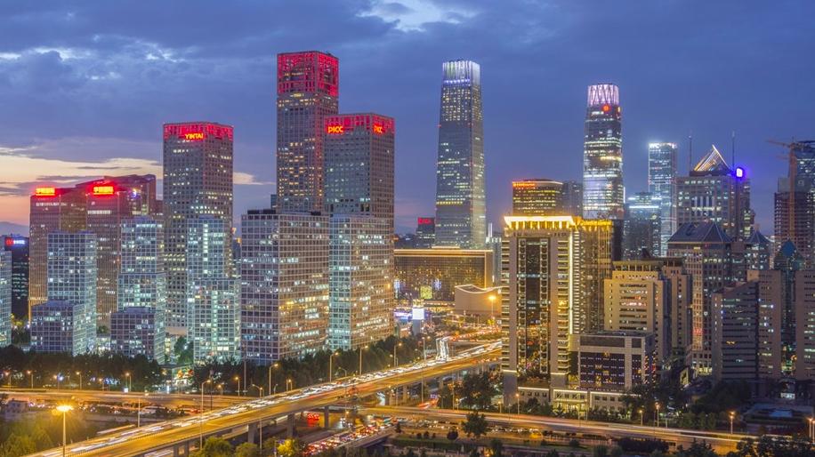 大陸十大城市中高端人才平均月薪排名,北京平均月薪位居第一。(香港01報導)