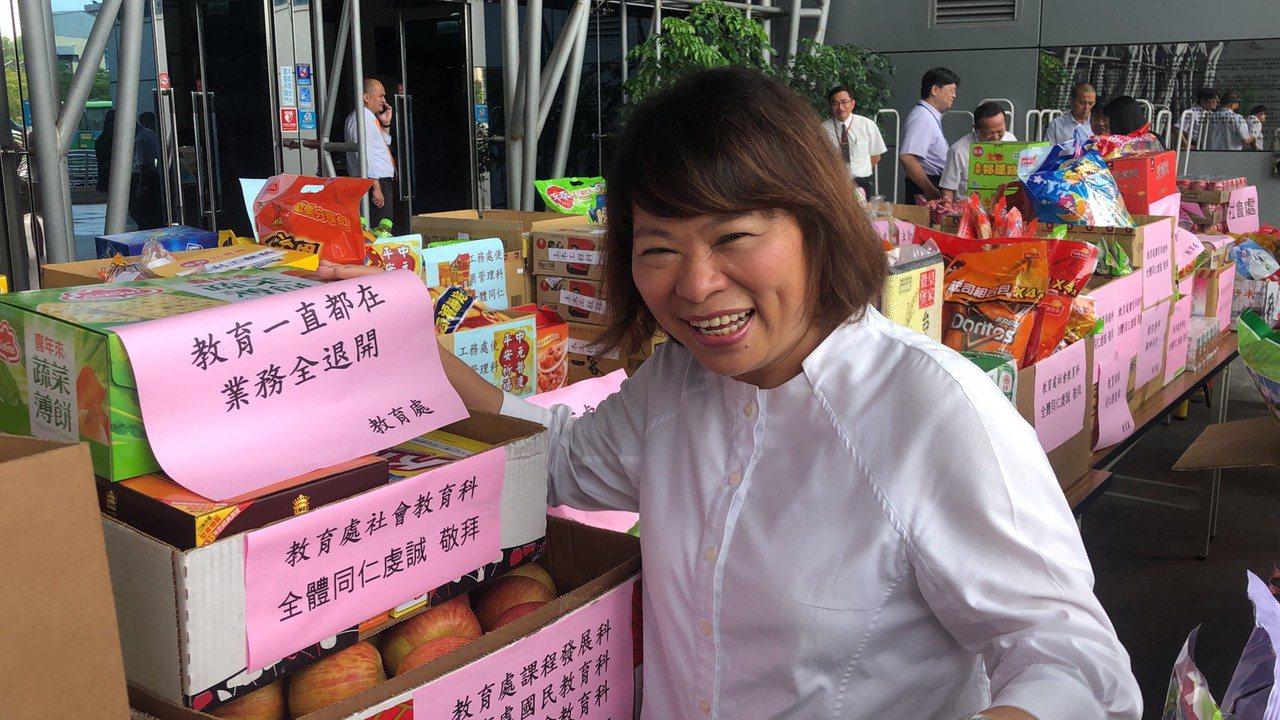 嘉義市長黃敏惠說,國民黨會有系統的安排韓國瑜造勢活動。記者李承穎/攝影