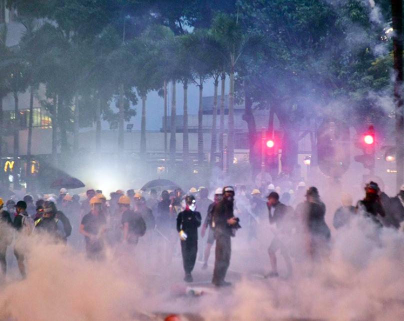 香港近兩個月爆發的「反送中」運動,讓一些企業意外捲入政治漩渦。(星島網)