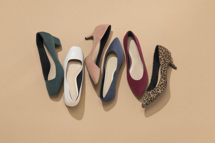 GU棉花糖包鞋系列進化再登場。圖/GU提供