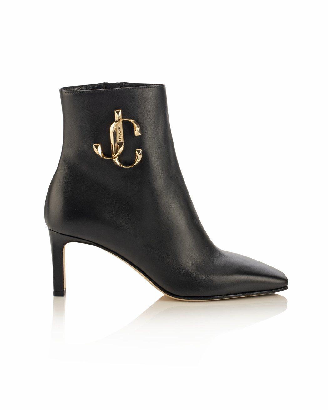 隋棠推薦MINORI JC LOGO短靴,54,800元。圖/Jimmy Cho...
